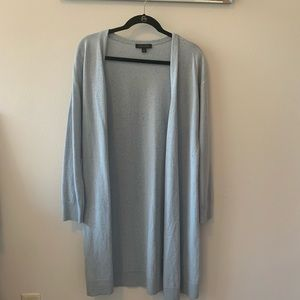 Ann Taylor Light Blue Wool Cardigan